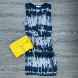 ❤️ Tie dye smoke blue gray mini YFB dress